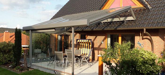 Terrassenüberdachungen bei Minden – auch für Ihren Balkon ...